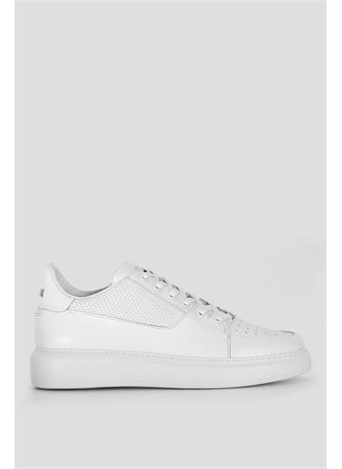Lufian Perfetto Deri Casual Ayakkabı  Beyaz